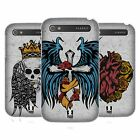 HEAD CASE DESIGNS TATTOO WINGS HARD BACK CASE FOR BLACKBERRY PHONES