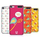 HEAD CASE DESIGNS BIRD PATTERNS HARD BACK CASE FOR APPLE iPOD TOUCH MP3