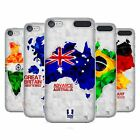 HEAD CASE DESIGNS GEOMETRIC MAPS HARD BACK CASE FOR APPLE iPOD TOUCH MP3