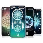 HEAD CASE DESIGNS SNOWFLAKES HARD BACK CASE FOR APPLE iPOD TOUCH MP3