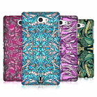 HEAD CASE DESIGNS ABSTRACT ALIEN PATTERNS HARD BACK CASE FOR SONY PHONES 4