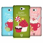HEAD CASE DESIGNS HOLIDAY TREATS HARD BACK CASE FOR SONY PHONES 4