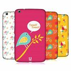 HEAD CASE DESIGNS BIRD PATTERNS HARD BACK CASE FOR SAMSUNG TABLETS 2