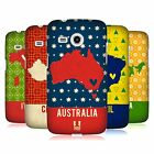 HEAD CASE DESIGNS PRINTED COUNTRY MAPS HARD BACK CASE FOR SAMSUNG PHONES 6