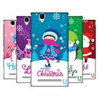 HEAD CASE DESIGNS CHRISTMAS TIDINGS HARD BACK CASE FOR SONY PHONES 3