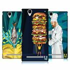HEAD CASE DESIGNS PROFESSION INSPIRED - FOOD LEAGUES BACK CASE FOR SONY PHONES 3