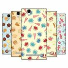 HEAD CASE DESIGNS PAJAMA PATTERNS HARD BACK CASE FOR SONY PHONES 3