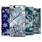 HEAD CASE DESIGNS WINTER PRINTS HARD BACK CASE FOR SONY PHONES 3