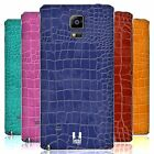 HEAD CASE DESIGNS CROCODILE SKIN PATTERN BATTERY COVER FOR SAMSUNG PHONES 1