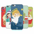 HEAD CASE DESIGNS JOLLY CHRISTMAS TOONS SOFT GEL CASE FOR APPLE iPHONE PHONES
