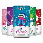 HEAD CASE DESIGNS CHRISTMAS TIDINGS SOFT GEL CASE FOR SONY PHONES 3