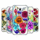 HEAD CASE DESIGNS WATERCOLOURED FLOWERS SOFT GEL CASE FOR SAMSUNG PHONES 3