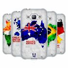 HEAD CASE DESIGNS GEOMETRIC MAPS SOFT GEL CASE FOR SAMSUNG PHONES 4