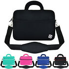 "Slim 13.3"" Inch Notebook Laptop Sleeve Handle Padded Shoulder Bag Pouch Cover"