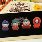 4PCS/set South Park Refrigerator Magnetic Stickers/Fridge Magnets as Party Gifts