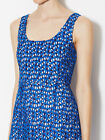 FRENCH CONNECTION 'Fast Wilma' Crochet Woven Lace Dress in St Tropez Blue $248