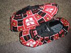 NEBRASKA HUSKERS PRINT BOWLING SHOE COVERS-MED,  LG OR XL