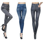 New Girls Jeggings Women's Slim Leggings Jean With 2 Real Pockets Pencil Pants