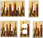 TUSCAN URNS VASES LIGHT SWITCH COVER PLATE    U PICK PLATE SIZE