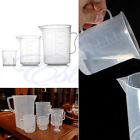 20/100/250ML Plastic Lab Measuring Mug Jug Cup Graduated Cooking Bakery Kitchen