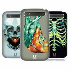 HEAD CASE DESIGNS POLYGONAL ANATOMY HARD BACK CASE FOR BLACKBERRY PHONES
