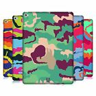 HEAD CASE DESIGNS COLOURFUL CAMOUFLAGE HARD BACK CASE FOR APPLE iPAD