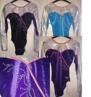 GYMNASTICS LEOTARD / LEOTARDS ZONE MELODY LONG SLEEVE 36 38 ONLY