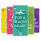HEAD CASE DESIGNS WORKOUT INSPIRATIONS SOFT GEL CASE FOR SONY PHONES 1