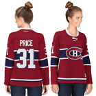 Carey Price Montreal Canadiens Reebok Womens Premier Player Jersey Red NHL