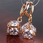 Women's Exquisite Long Drop Earring Dangle Studs Crystal Zircon Wedding Jewelry
