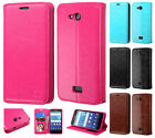 Kyocera Hydro Air C6745 Premium Wallet Case Flap STAND Cover +Screen Protector