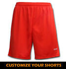 Ichnos teamwear team kit soccer football futsal sport shorts red