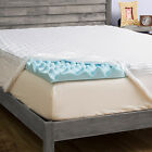 Grande Hotel Collection 3-in Comfort Gel Memory Foam Mattress Topper With Cover