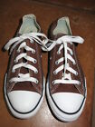 Converse All Star Chuck Taylor chocolate brown Oxford sneakers tennis shoes 3 Y
