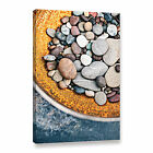 Artwall Elena Ray 'rusted Bowl Of River Stones' Gallery-wrapped Canvas