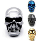 Mens Boys Huge Silver/Gold/Blue/Black SKULL Stainless Steel Biker size Ring 7-15