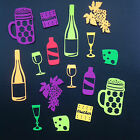 Food & Drink Die Cuts -  Sets of 16 in assorted colours