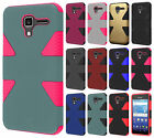 For Kyocera Hydro View IMPACT TUFF HYBRID Protector Case Skin Phone Cover