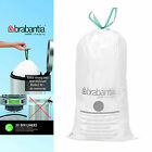 Brabantia 20 Bin Liners Waste Bag White 30L - Choose Amount