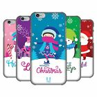 HEAD CASE DESIGNS CHRISTMAS TIDINGS HARD BACK CASE FOR APPLE iPHONE 6 6S