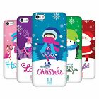 HEAD CASE DESIGNS CHRISTMAS TIDINGS HARD BACK CASE FOR APPLE iPHONE 5C