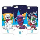 HEAD CASE DESIGNS CHRISTMAS ZOMBIES HARD BACK CASE FOR APPLE iPHONE 5 5S SE