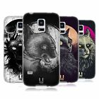 HEAD CASE DESIGNS CATS OF GOTH SOFT GEL CASE FOR SAMSUNG GALAXY S5 MINI