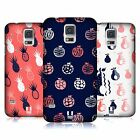 HEAD CASE DESIGNS FRUITY DOODLES HARD BACK CASE FOR SAMSUNG GALAXY S5 S5 NEO