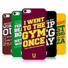 HEAD CASE DESIGNS FUNNY WORKOUT STATEMENTS HARD BACK CASE FOR APPLE iPHONE 5 5S