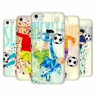 HEAD CASE DESIGNS GEOMETRIC FOOTBALL MOVES HARD BACK CASE FOR APPLE iPHONE 5C