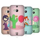 HEAD CASE DESIGNS IMPOSSIBLE LOVE HARD BACK CASE FOR HTC ONE M8