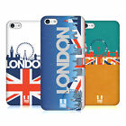 HEAD CASE DESIGNS LONDON CITYSCAPE HARD BACK CASE FOR APPLE iPHONE 5C