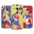 HEAD CASE DESIGNS AMERICA'S SWEETHEART USA SOFT GEL CASE FOR HTC ONE M8