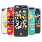 HEAD CASE DESIGNS LIFE AND LEMONS SOFT GEL CASE FOR APPLE iPOD TOUCH 6G